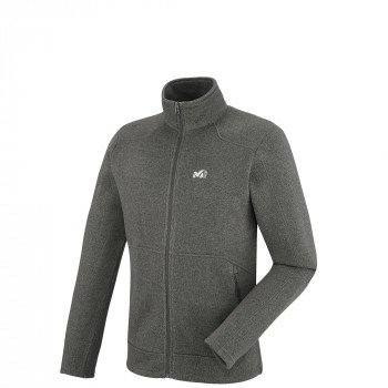 Polaire Millet Hickory Fleece Gris Homme
