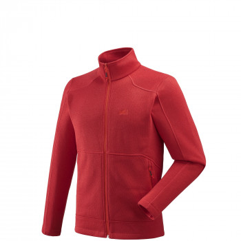 Polaire Millet Hickory Fleece Rouge Homme