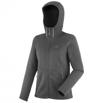 Polaire Millet Hickory Hoodie Gris Femme
