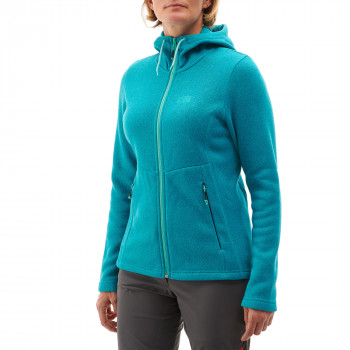 Polaire Millet Hickory Hoodie Bleu Femme