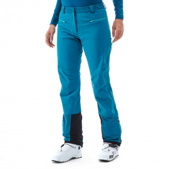 Pantalon Softshell Millet Touring Shield Bleu Femme