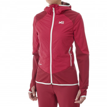 Softshell Millet Touring Speed Xcs Hoodie Rouge Femme