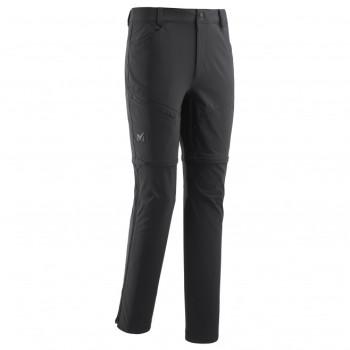 Pantalon Zip-off Millet TREKKER STRETCH ZIP OFF P BLACK - NOIR