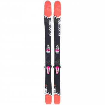 Pack Ski Sky 7 HD W + Fixations NX 11 B100 Pink White Noir Rossignol Femme