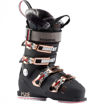 Chaussures De Ski Rossignol Pure Pro Heat (night Black) Femme