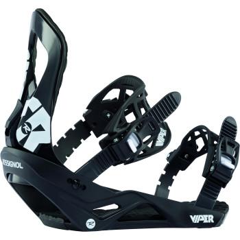 Fixations de Snowboard Rossignol VIPER M/L Homme Noir