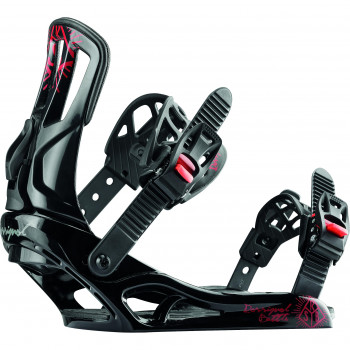 Fixations de Snowboard Rossignol BATTLE XL Homme Noir