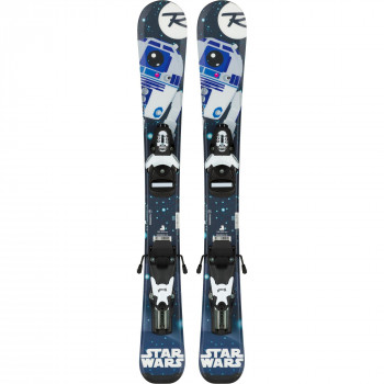 Skis Rossignol STAR WARS BABY + Fixations TEAM 4 B76