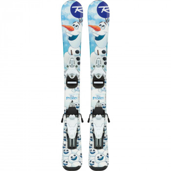 Skis Rossignol Frozen BABY + Fixations TEAM 4 B76