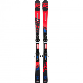 Skis Rossignol Hero Athlete GS(R20 Pro) + Fixations Nx Jr 10