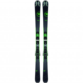 Pack Ski Rossignol EXPERIENCE 76CI + Fixations XP 10 B83 Homme Vert
