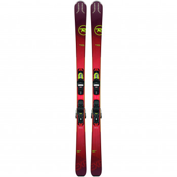 Pack Ski Rossignol EXPERIENCE 80 CI + Fixations XP 11 GW Homme Rouge