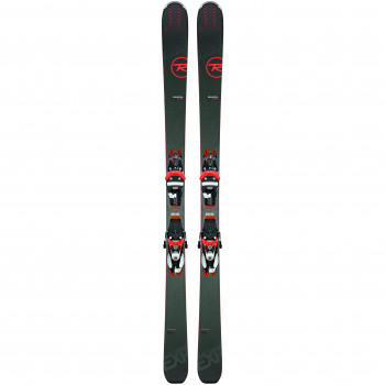Pack Ski Rossignol EXPERIENCE 88 TI + Fixations SPX12 K Homme Marron