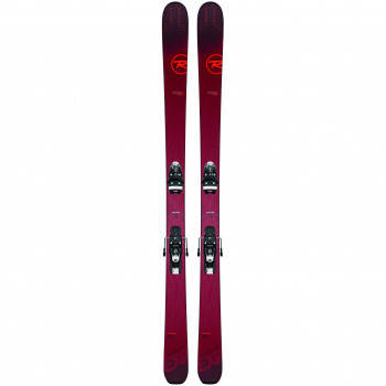 Pack Ski Rossignol EXPERIENCE 94 TI + Fixations SPX12 GW Homme Rouge