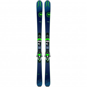 Pack Ski Rossignol EXPERIENCE 84 AI K + Fixations NX12 K.GW Homme Bleu