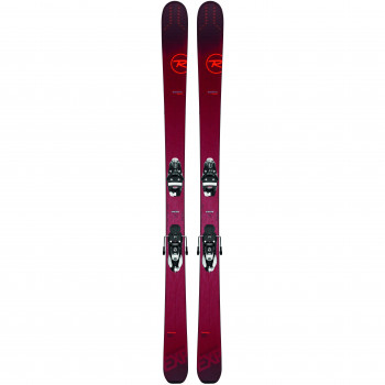 Pack Ski Rossignol EXPERIENCE 94TI + Fixations NX12 K.GW Homme Rouge
