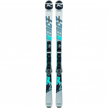 Pack Ski Rossignol REACT R2 + Fixations XP10 B83 Homme Gris