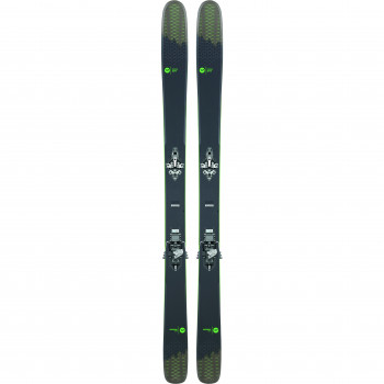 Pack Ski Rossignol SKY 7 HD + Fixations HM ROTATION 12 Homme Gris