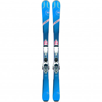 Pack Ski Rossignol EXPERIENCE 74 W K + Fixations XP W 10 Femme Vert
