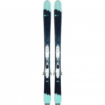 Pack Ski Rossignol SPICY 7 HD + Fixations XP W 10 Femme Noir