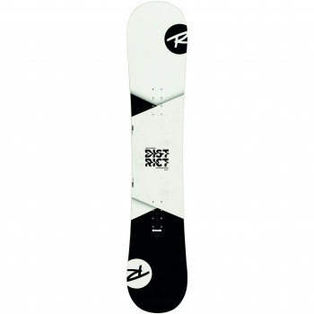 Pack Snowboard Rossignol DISTRICT  WIDE + Fixations BATTLE XL Homme Blanc