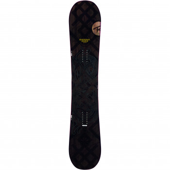 Pack Snowboard Rossignol ANGUS + Fixations COBRA M/L Homme Marron
