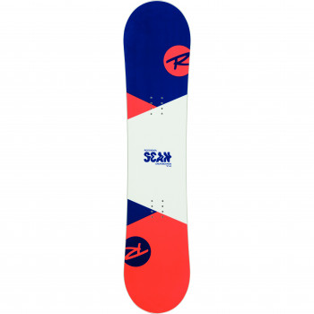 Pack Snowboard Rossignol SCAN SMALLS + Fixations ROOKIE S Homme Blanc