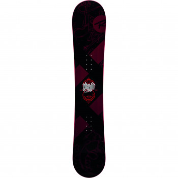 Pack Snowboard Rossignol  CIRCUIT WIDE + Fixations BATTLE S/M Homme Rouge