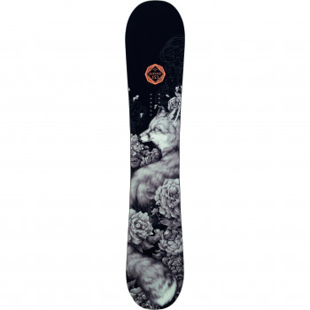 Pack Snowboard Rossignol JUSTICE + Fixations JUSTICE S/M Femme Gris