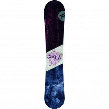 Pack Snowboard Rossignol GALA + Fixations GALA S/M Femme Violet