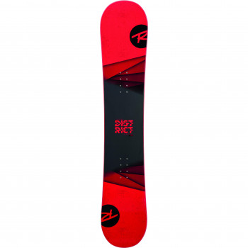 Pack Snowboard Rossignol DISTRICT  WIDE + Fixations BATTLE XL Homme Rouge
