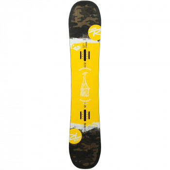 Pack Snowboard Rossignol Exp7 R Wide + Fixations Reply Rail M/L Homme