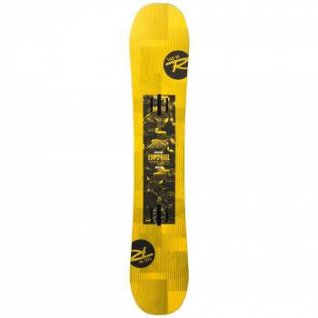 Pack Snowboard Rossignol Exp 3 R Wide + Fixations Reply Rail M/L Homme