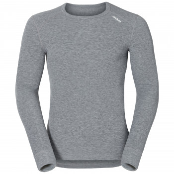 T-Shirt Technique Homme Odlo ML WARM Grey