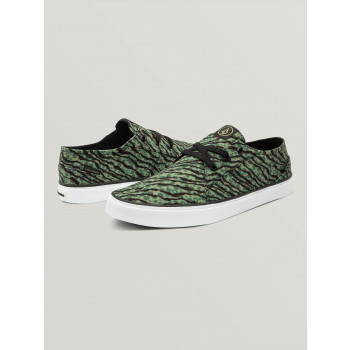 Chaussures de Skate Volcom LO FI Animal Print Homme