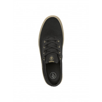 Basket Volcom Draw Lo Suede Black Out Homme