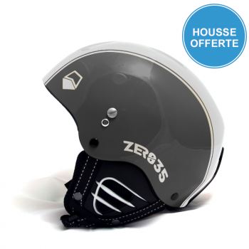 Casque de Ski/Snow ZERO35 Easy Antracite/Blanc