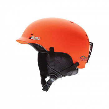 Casque De Ski/Snow Smith Gage Matte Orange