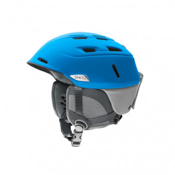 Casque de Ski/Snow Smith CAMBER Matte Imp Blue Cloud Grey