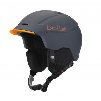 Casque de Ski/Snow Bollé Instinct Soft Grey & Orange 58-61