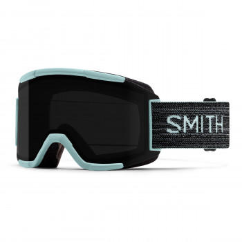 Masque de Ski/Snow Smith SQUAD  Pale Mint | ChromaPop Sun Black S3/S1 Noir