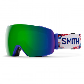 Masque de Ski/Snow Smith I/O MAG Help Wanted | ChromaPop™ Sun Green Mirror S3/S1 Bleu