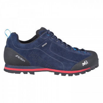 Chaussures Basse Millet Friction Gtx Saphir Rouge Homme