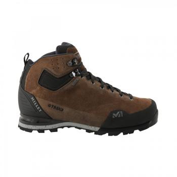 Chaussures Haute Millet Gr3 Goretex M Leather Brown Homme