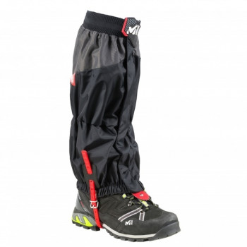 Guêtres Millet HIGH ROUTE GAITERS BLACK/RED