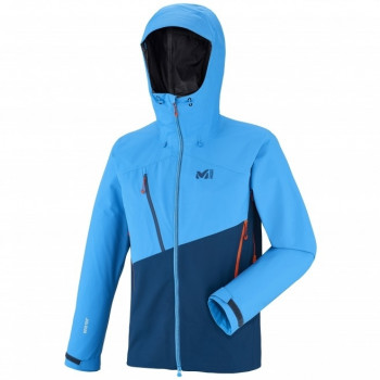 Veste d'Alpinisme Millet ELEVATION GTX POSEIDON/ELECTRIC BLUE