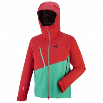 Veste d'Alpinisme Millet ELEVATION GTX DYNASTY GREEN/ROUGE