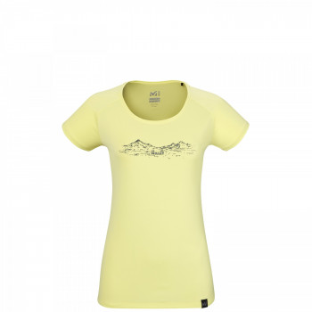 Tee shirt Millet Hazy Mountains Limon Femme