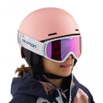 Casque de Ski/Snow Salomon PACT Tropical Peach Garçon