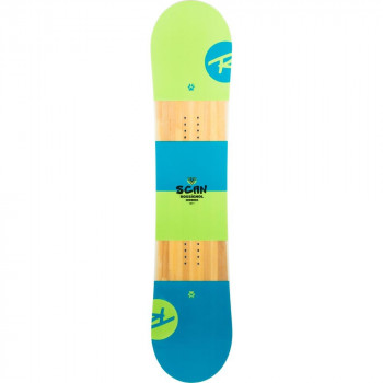 Pack Snowboard Rossignol Scan Smalls + Fixations rookie S